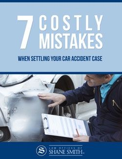 7 Costly Mistakes When Settling Your Car Accident Case